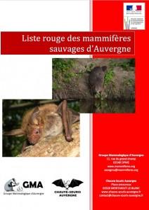 liste rouge des mammifère d'auvergne image